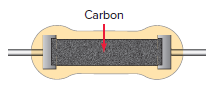 Carbon-composition resistor.