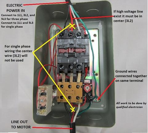 6 motor starter types motor contactor types plc motor control wiring diagram for magnetic motor starter at gsmx.co
