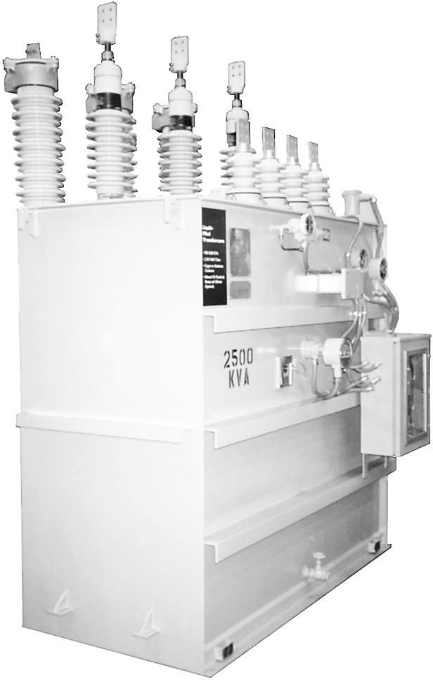 2500 kVA power transformer.