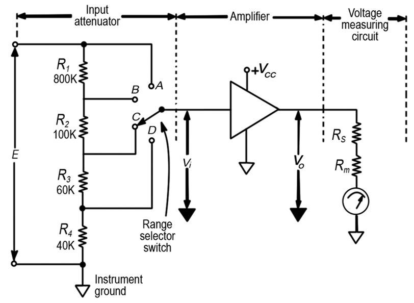 electronic voltmeter working and block diagram electrical IGBT Tester Circuit Diagram