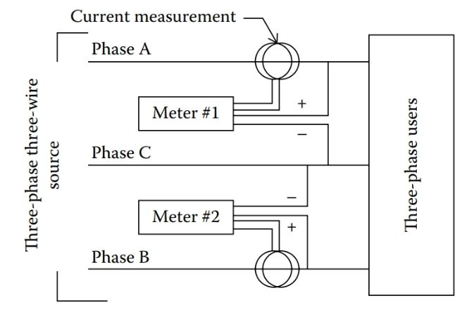 Three Phase Power Measurement in Three Phase Circuits | Electrical ...