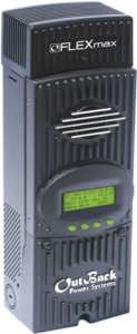 Typical Maximum power point tracking (MPPT) Charge Controller