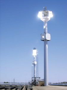 Central solar tower receiver