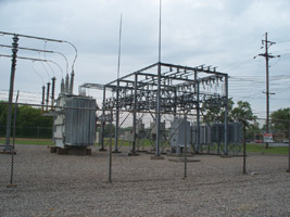 Small Substation for Residential Area Users