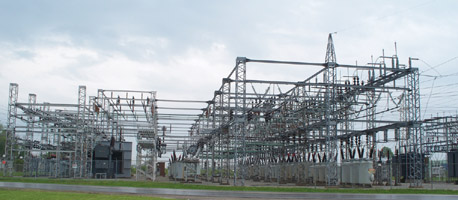 Large Substation for an Industrial Complex