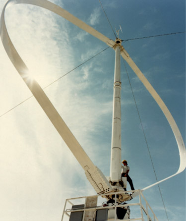 Vertical-Axis Wind Turbine (VAWT): Working, Types
