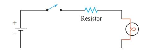 Using a resistor to limit current