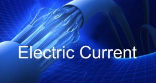 electric current definition, unit, formula