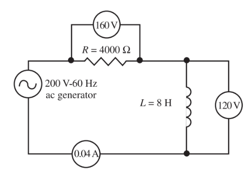 RL Circuit Calculation