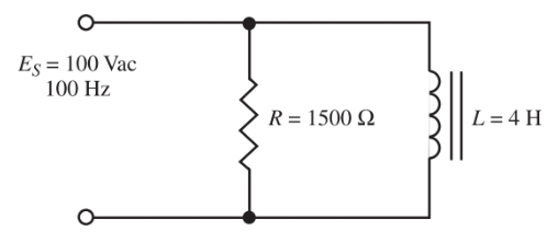 A parallel RL circuit