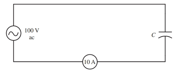 Schematic for the theoretical capacitive circuit