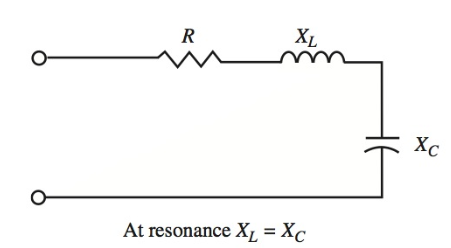 series resonant circuit is an acceptor circuit