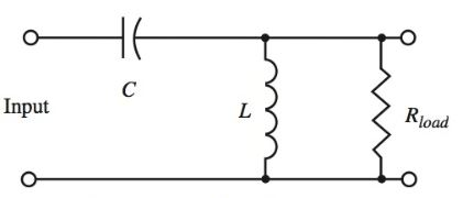 high-pass filter circuit