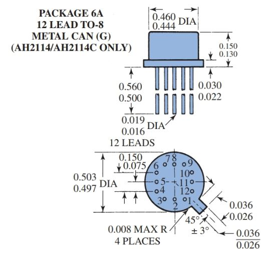 several types of ICs: designs, including pin numbering systems and dimensions c