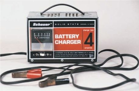 This type of charger is called a trickle charger
