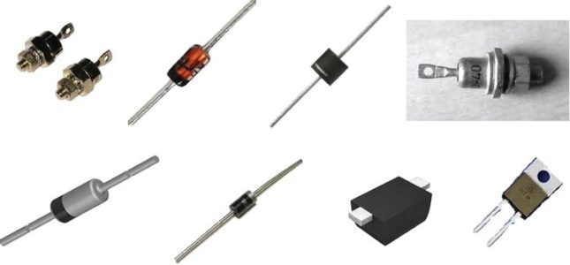 Other shapes of diodes.