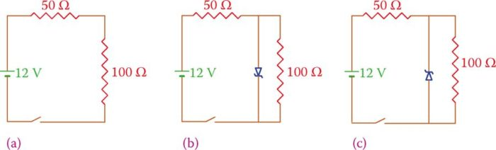 zener diode in forward and reverse bias mode