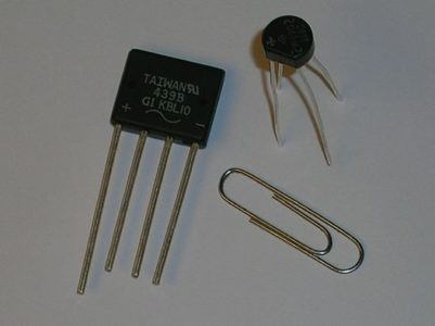 Bridge rectifier integrated circuits.