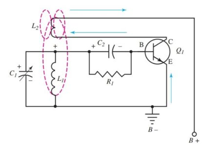 Armstrong oscillator operation