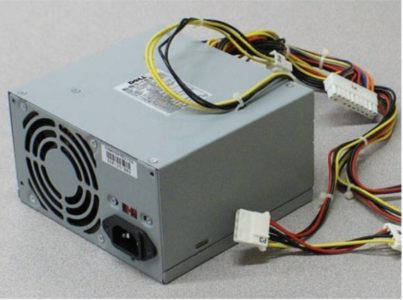 power supply provides power to the motherboard and to other computer components.