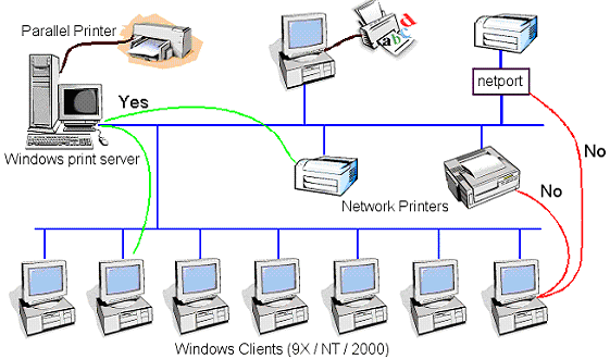 How to Network Printer Sharing   Electrical Academia
