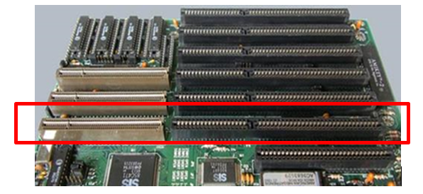VL bus expansion slots