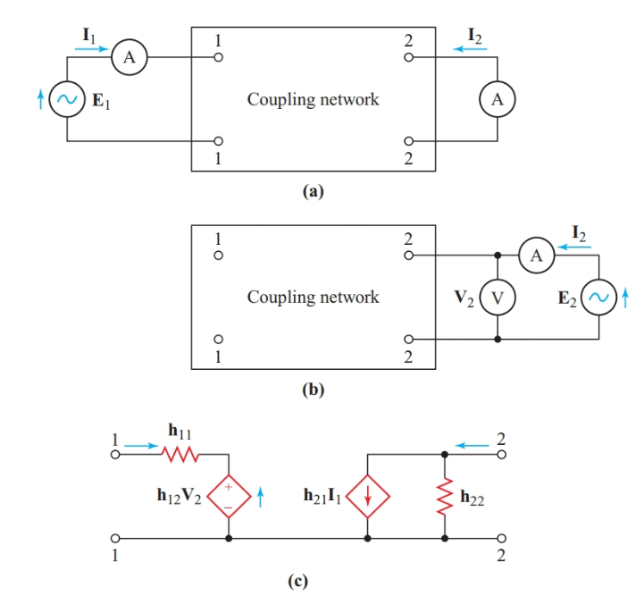Finding the Norton-equivalent output circuit of a four-terminal network