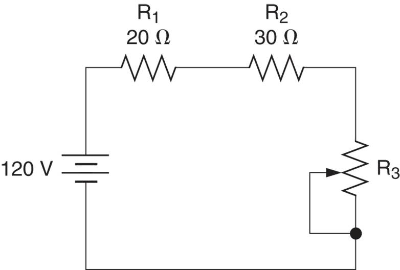 resistance in series circuit example