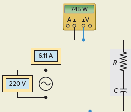 Power Factor for RC Series Circuit