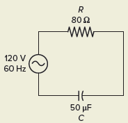 Capacitive Reactance in RC Circuit
