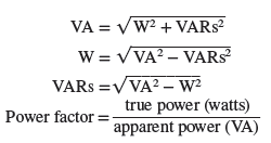 power formula for parallel rc circuit