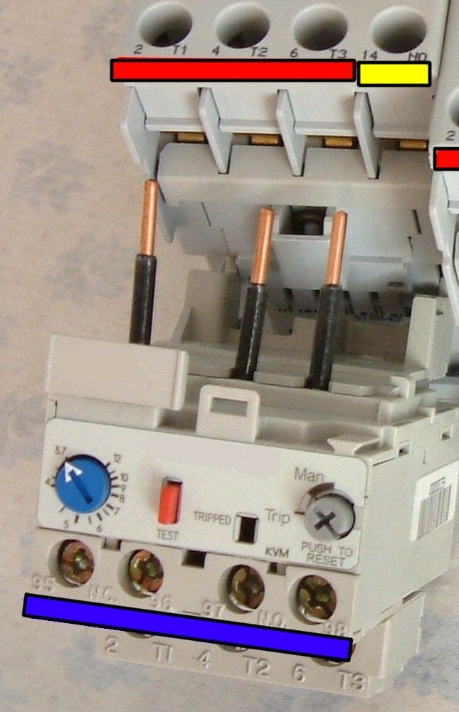 Motor Starter with Electronic Overload