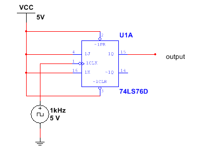 Simple Frequency Divider