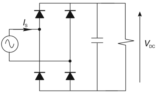 Simple single-phase switched-mode power supply.