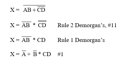 logic simplification examples 2
