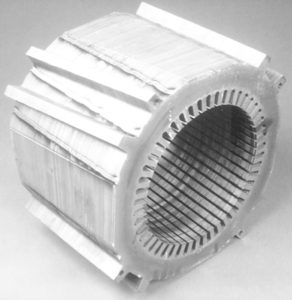Stator core of a synchronous motor