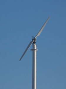 Typical Two-Blade Wind Turbine