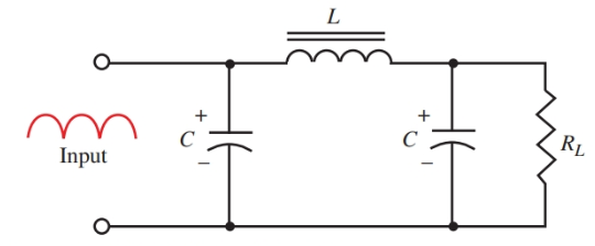 Pi (π) section filter.