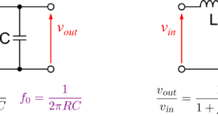 RC and RL High Pass Filters