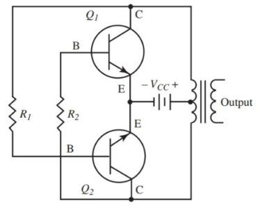 Power oscillator circuit diagram