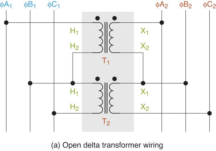 delta wiring diagrams three phase transformer connections electrical academia  three phase transformer connections