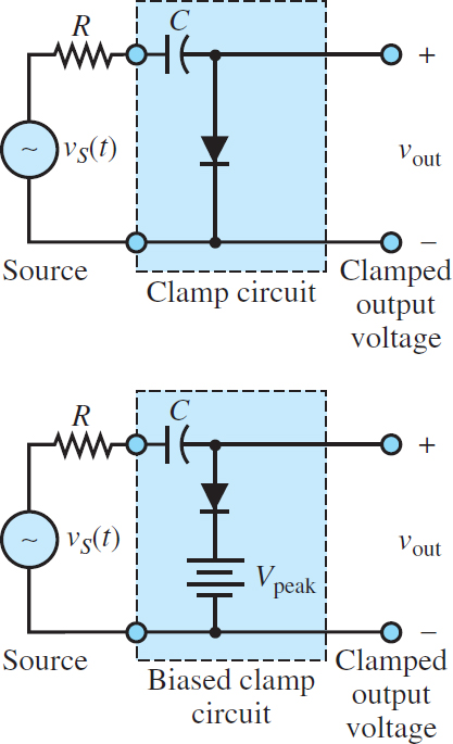 Diode clamp circuits