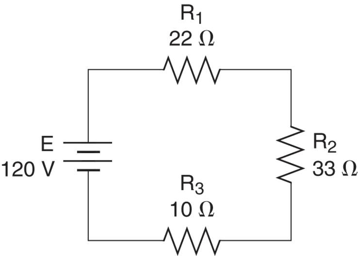 power in a series circuit example