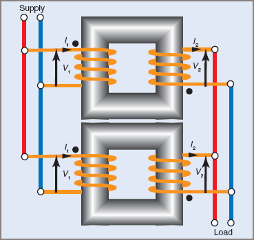 Parallel transformers Connection