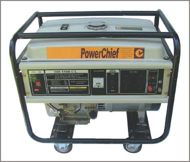 Self-contained portable power supply diagram