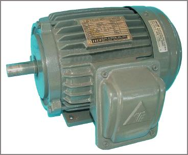 Totally enclosed fan-cooled electric motor