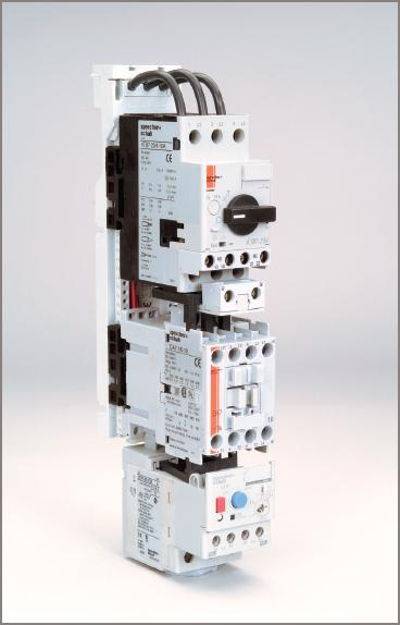 Electric Motor circuit breaker with contactor and overload unit