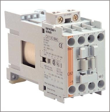 An electronic overload relay