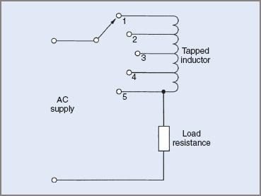 Tapped inductor power control